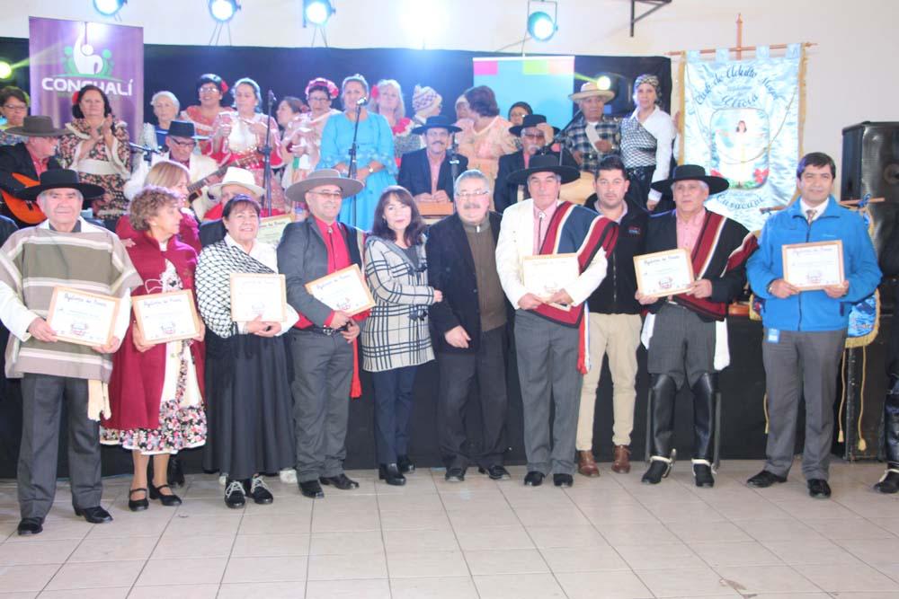 Encuentro Folclórico Intercomunal Del Adulto Mayor