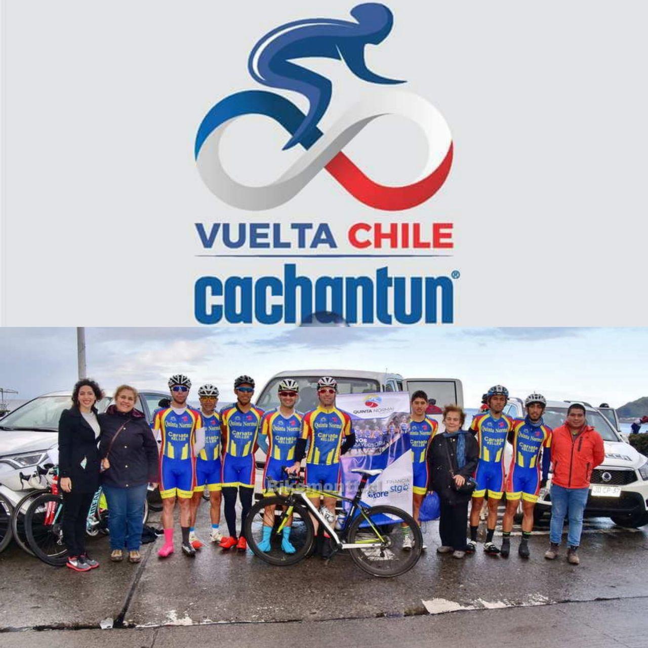 Club de Ciclistas de Quinta Normal clasificó a la Vuelta a Chile