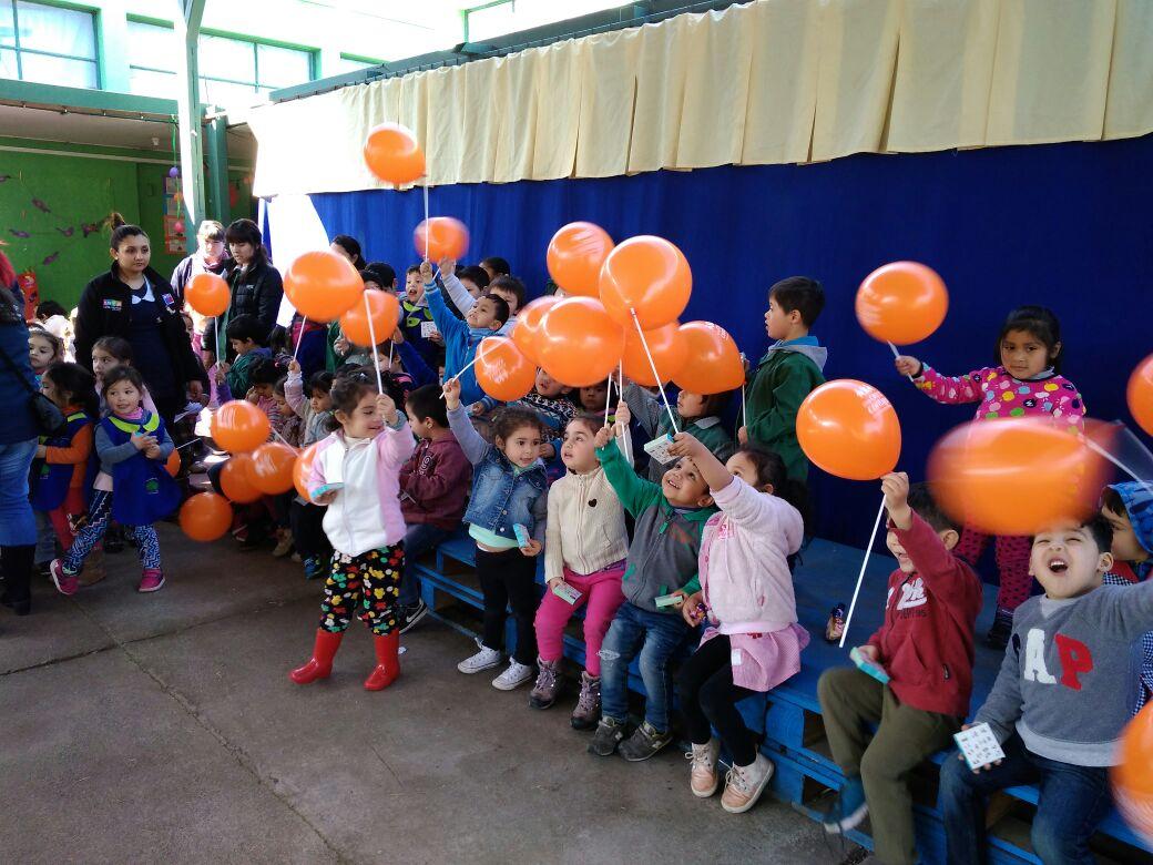 Consejo de Televisión y Gobernación participan en celebración de los 10 años de Chile Crece Contigo en la comuna.