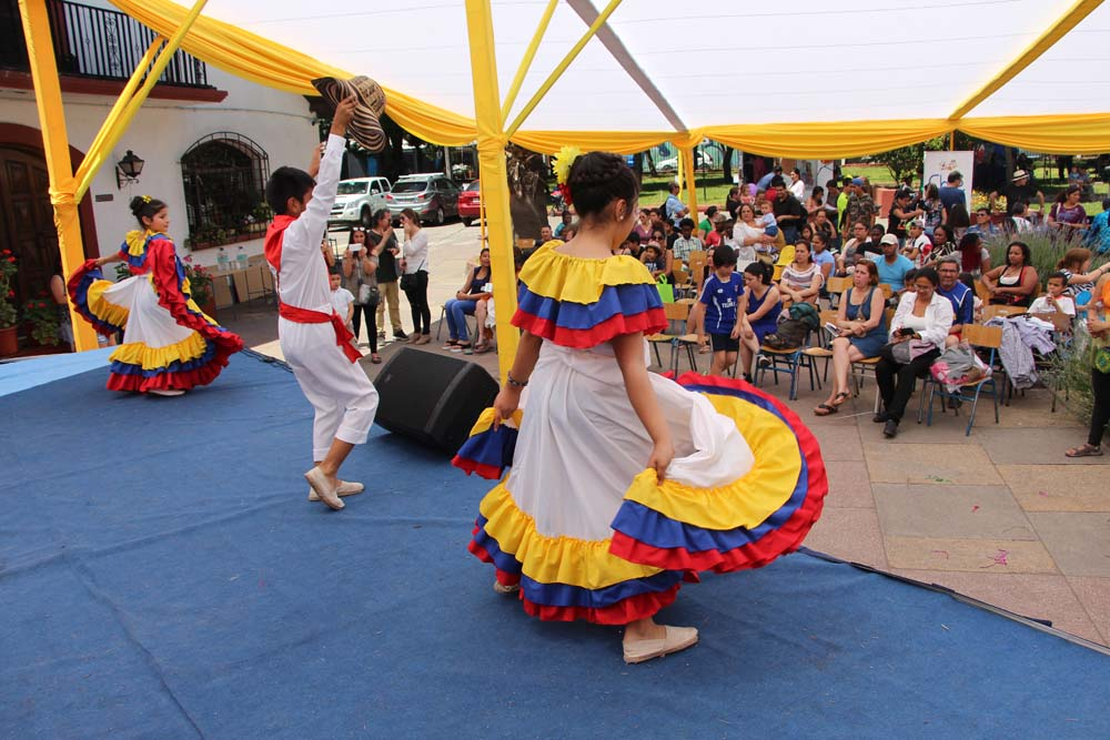 Feria migrante: Quinta normal te acoge