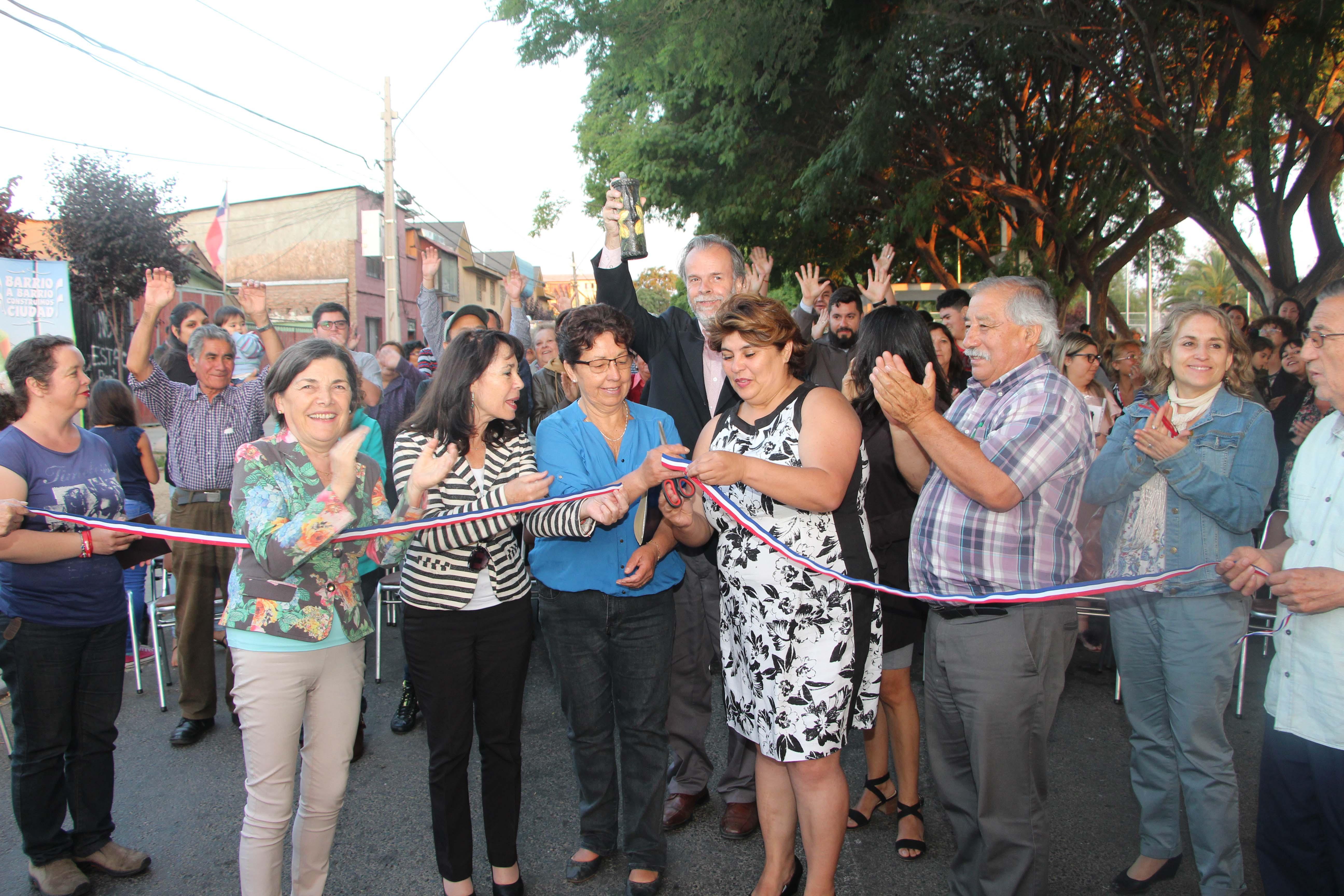 Con inauguración del Paseo Hostos, finaliza exitoso programa Quiero Mi barrio en Lo Besa