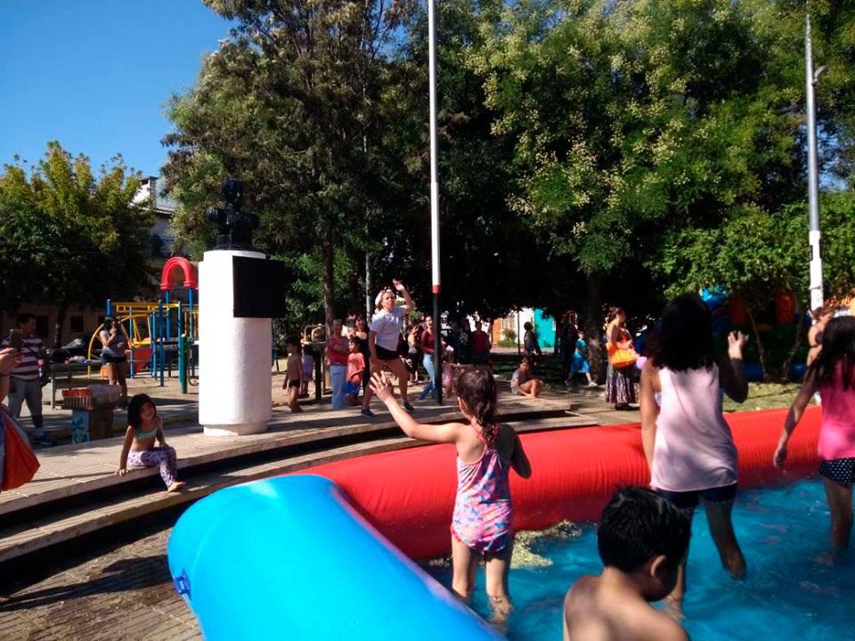 Plazas de verano: Entretención para toda la familia