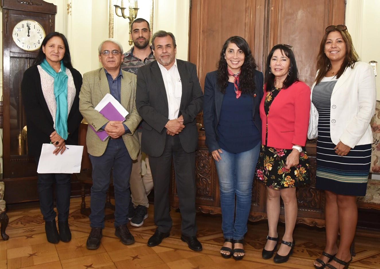 Alcaldesa e Intendenta sostienen primera reunión de trabajo