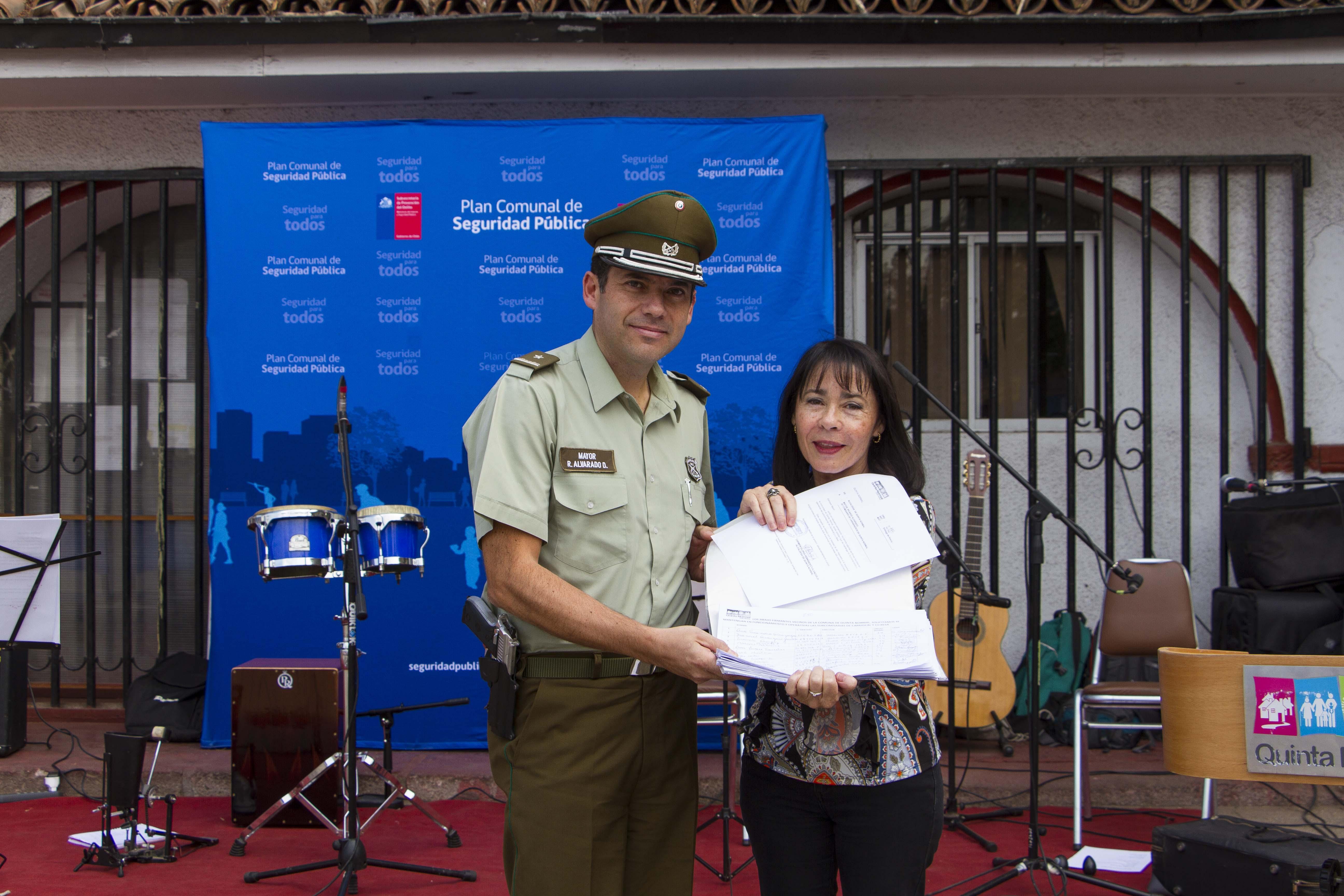 Más de 850 quintanormalinos firmaron en apoyo a la mantención de las Sub Comisarías