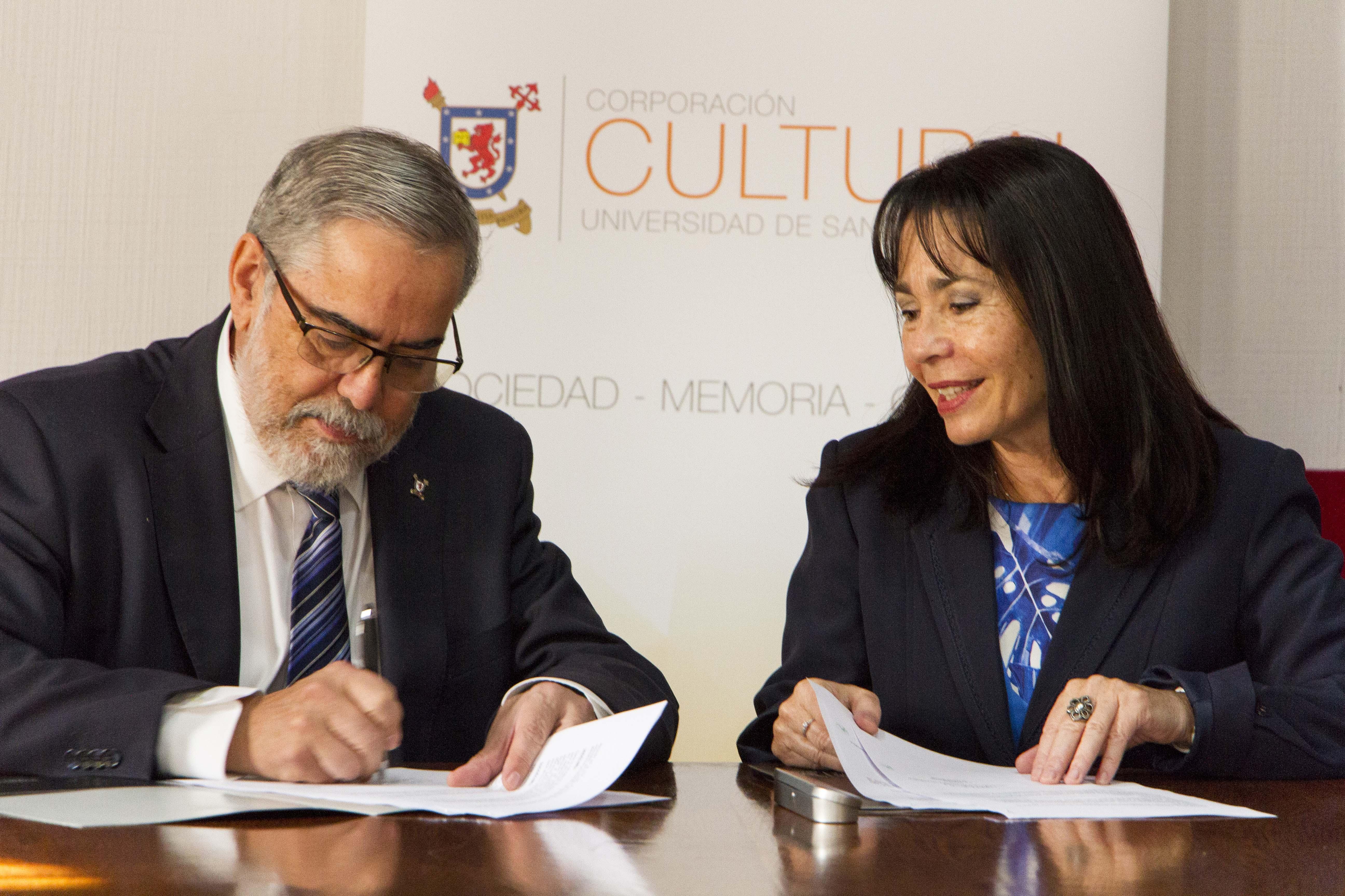 Más cultura para Quinta Normal: Alcaldesa suscribe convenio con Universidad de Santiago