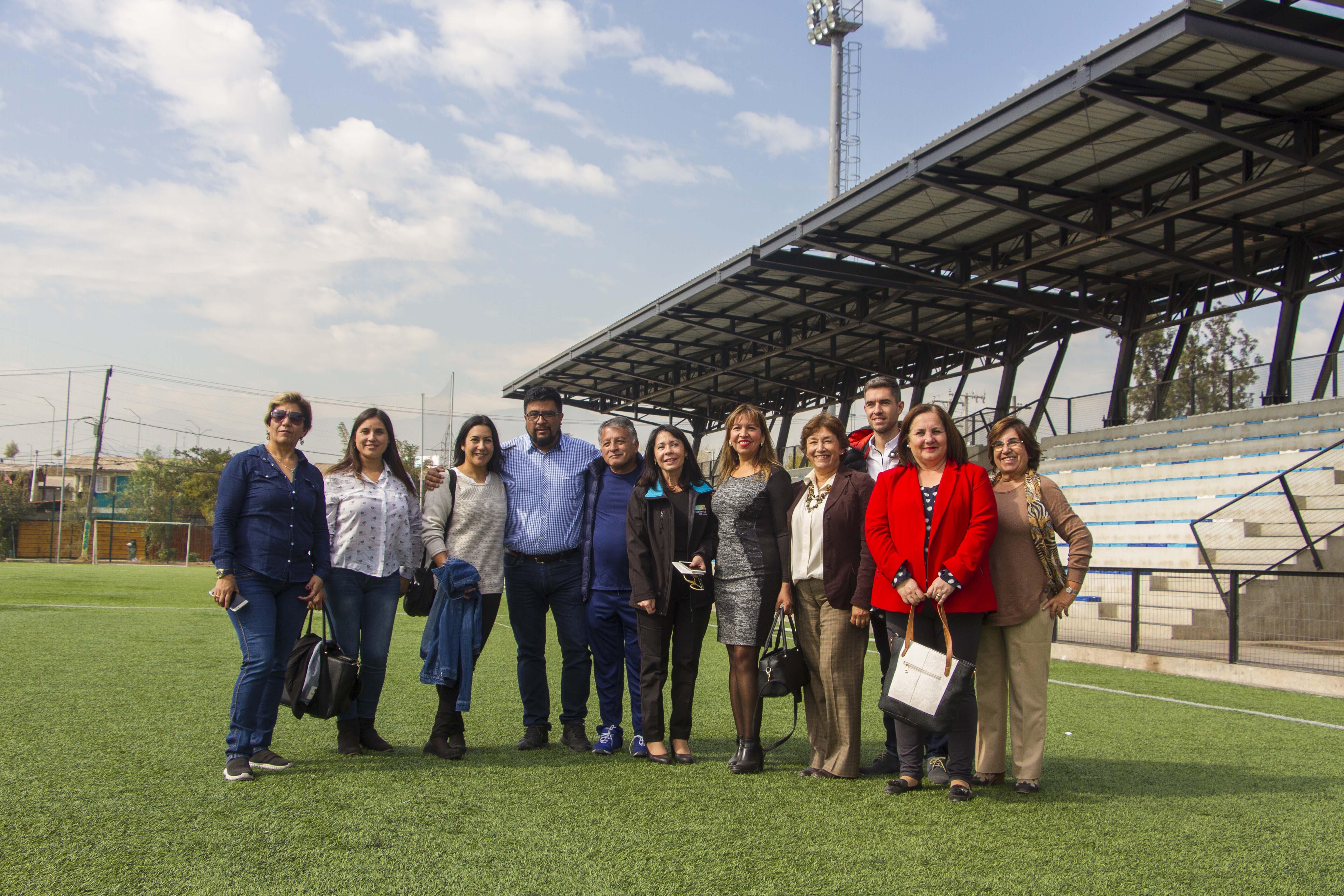 Autoridades realizan visita inspectiva a estadios