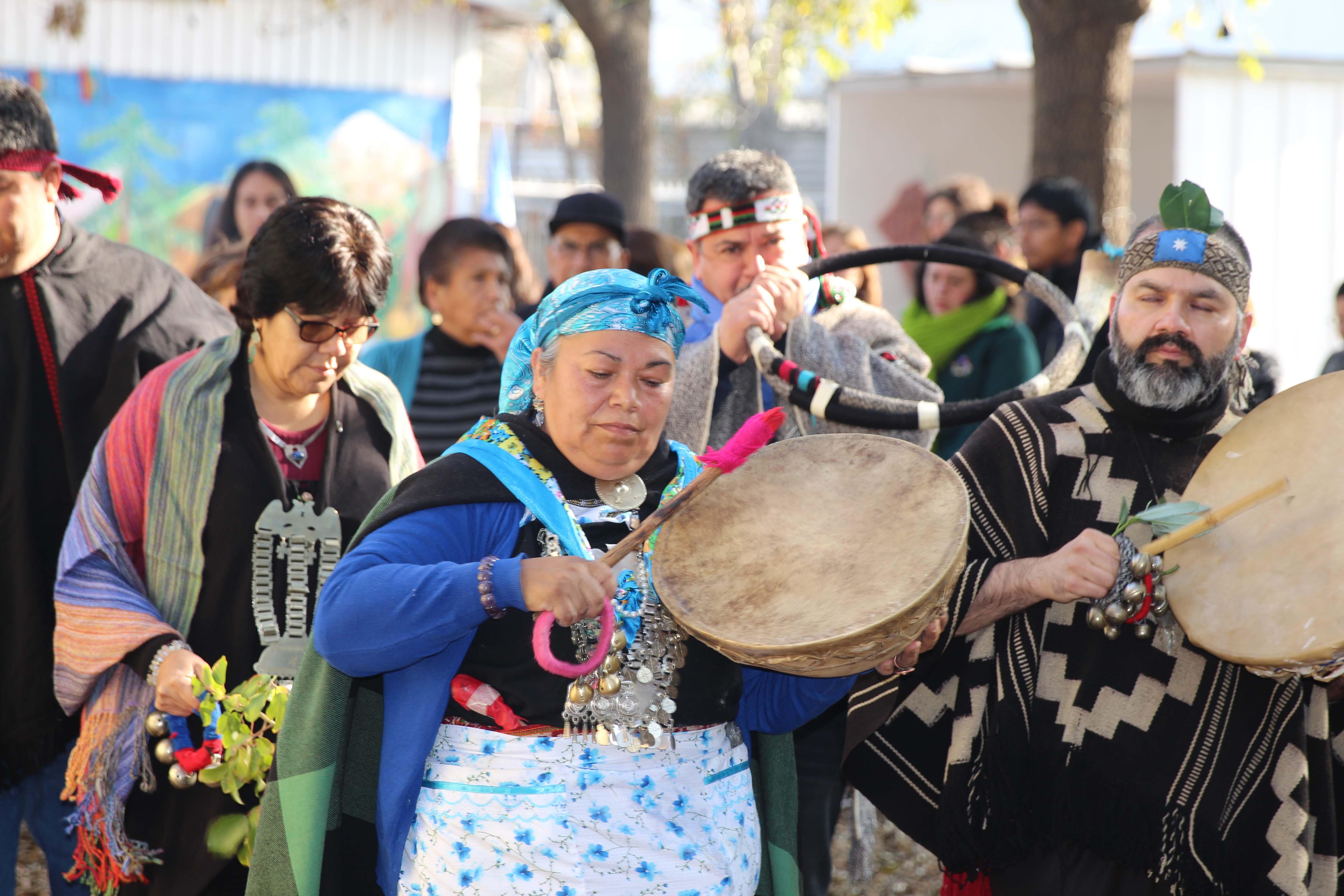 Quinta Normal da la bienvenida al año nuevo indígena