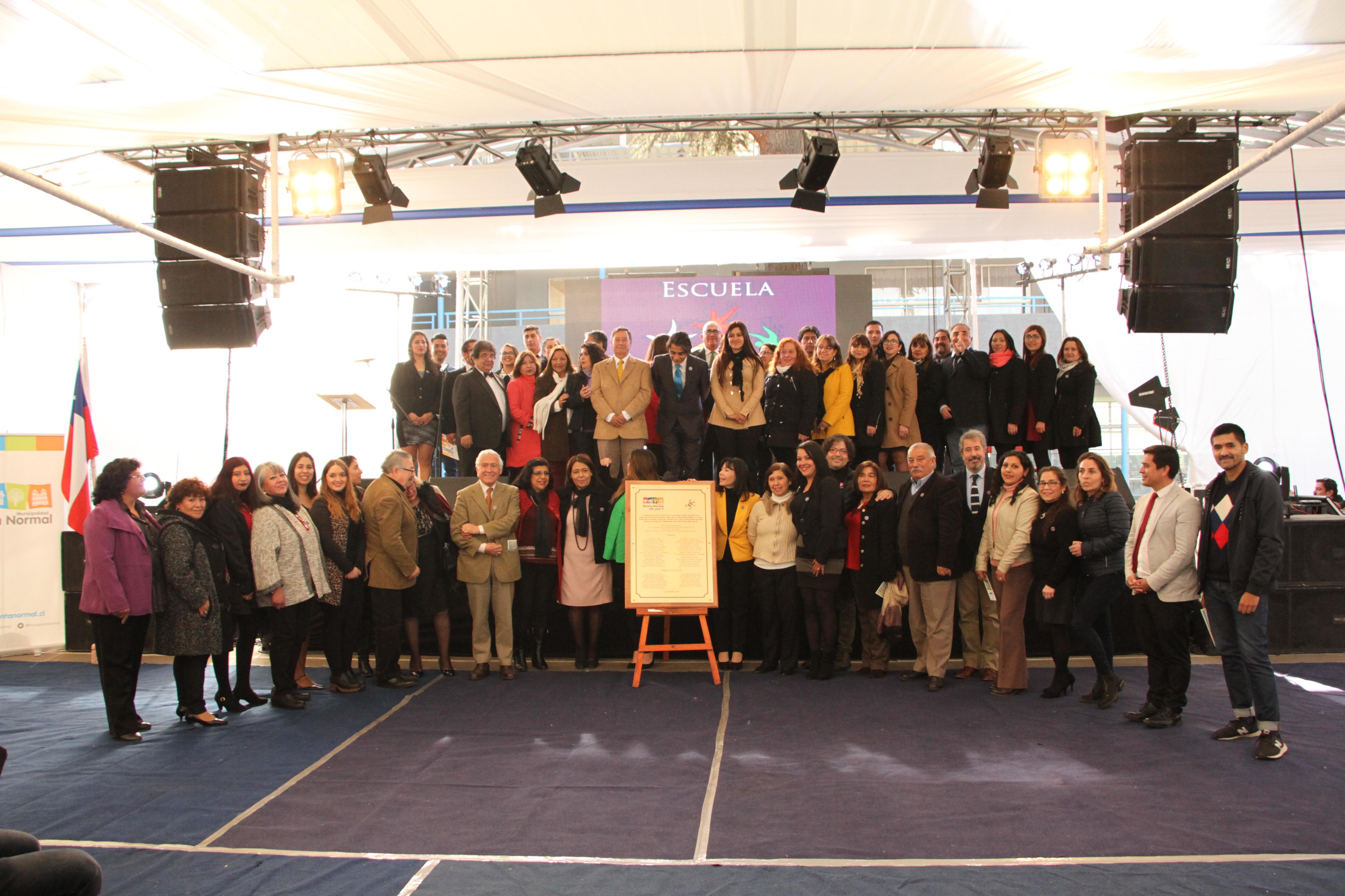 Con diversas actividades Escuela Diego Portales celebró 100 años