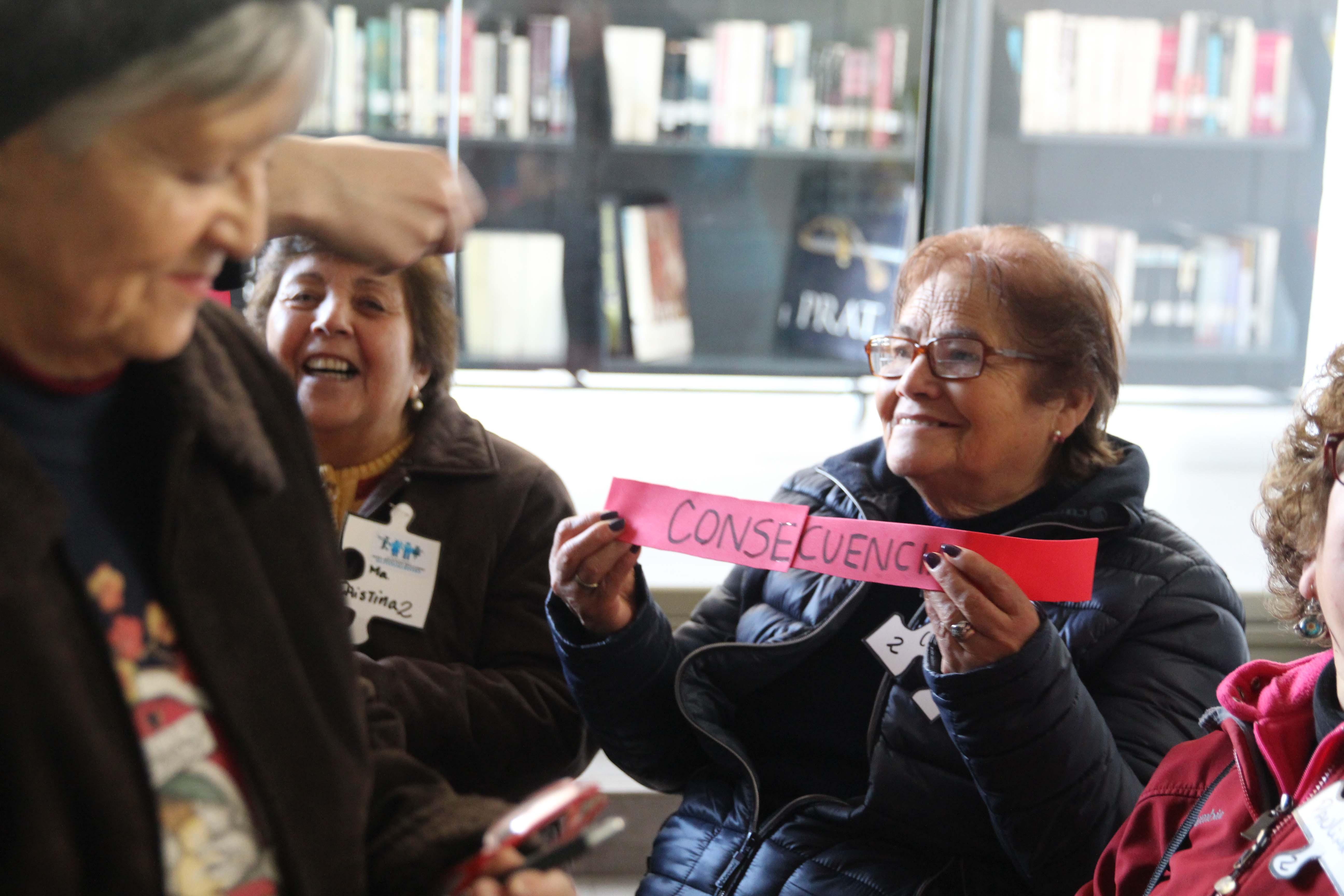 """Adultos """"mejores"""" del programa MAS realizan diagnóstico participativo"""
