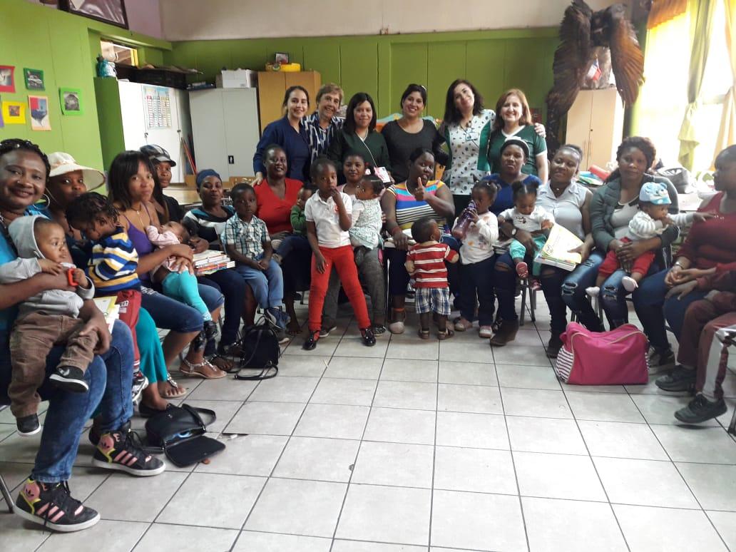 Chile Crece apoya familias de jardines infantiles municipales