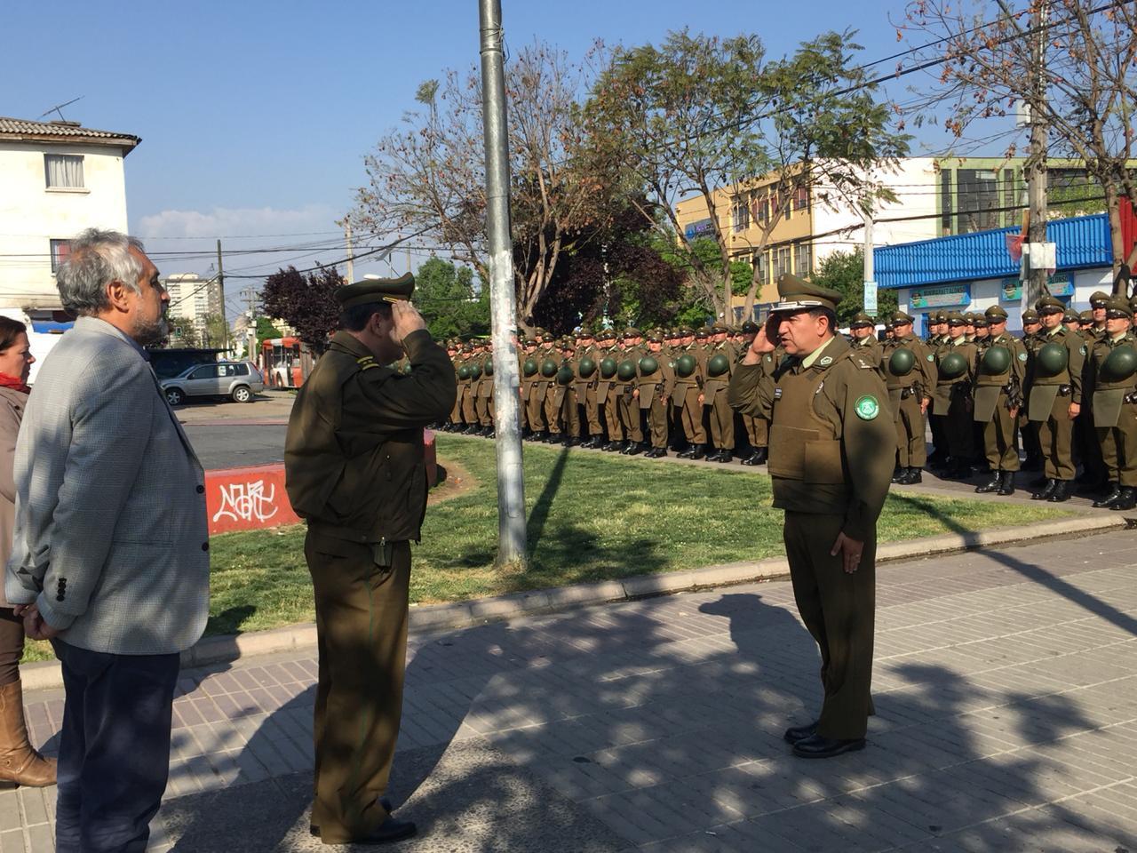 Masivo operativo policial mejora la seguridad en la comuna