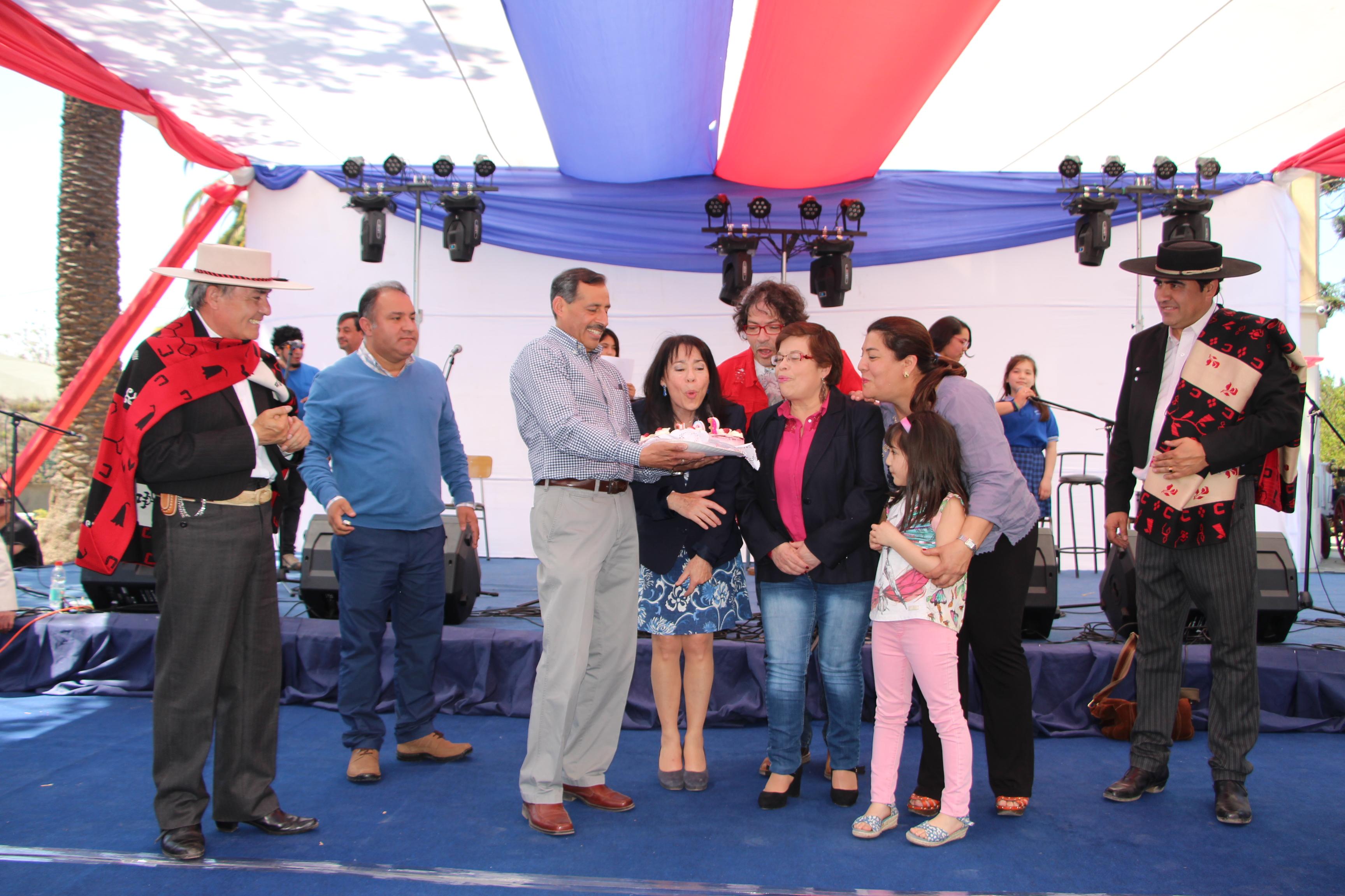 Quinta Normal celebra su 103 aniversario comunal