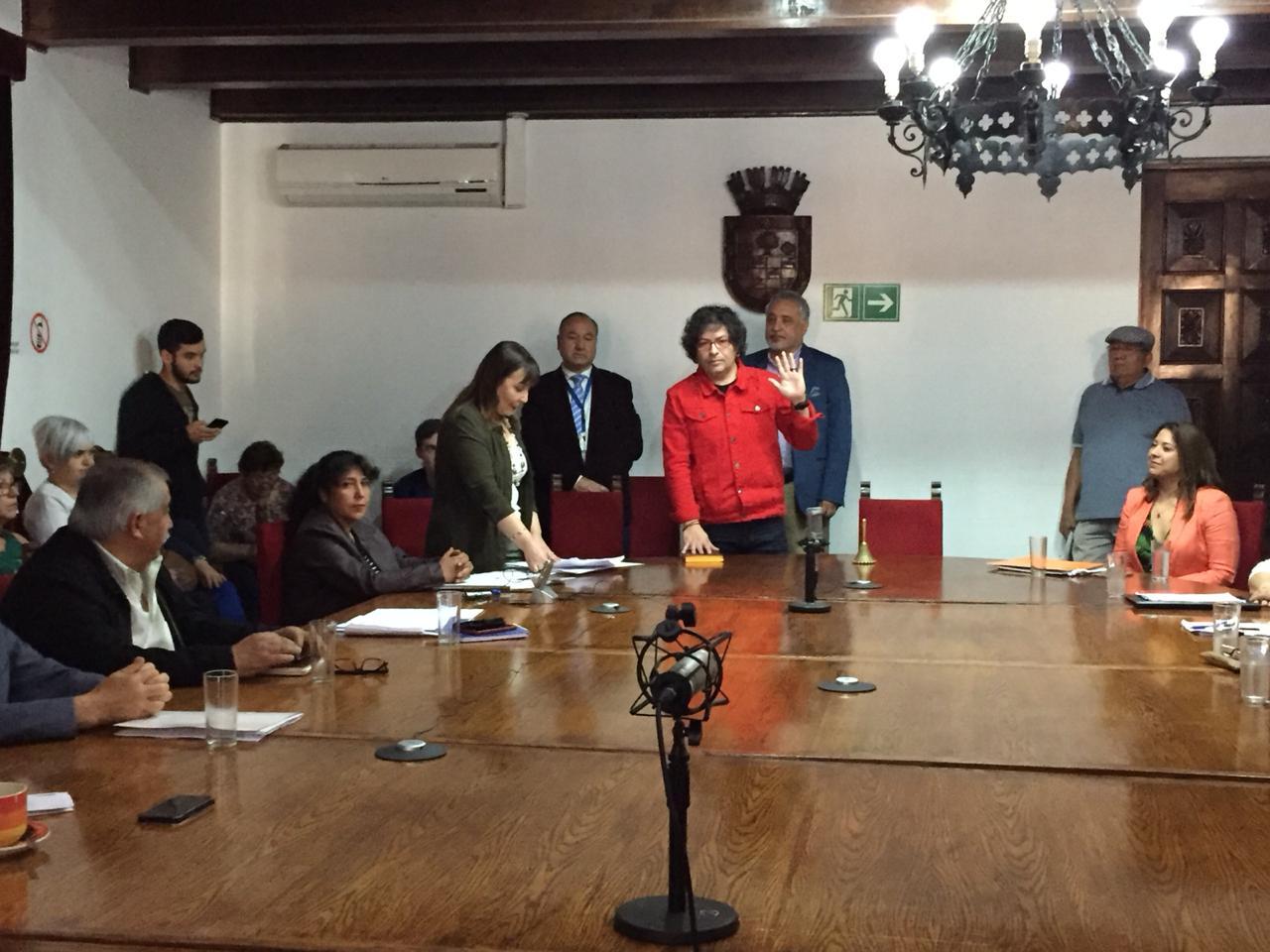 Concejo municipal elige a Francisco Duarte Díaz como Alcalde Suplente