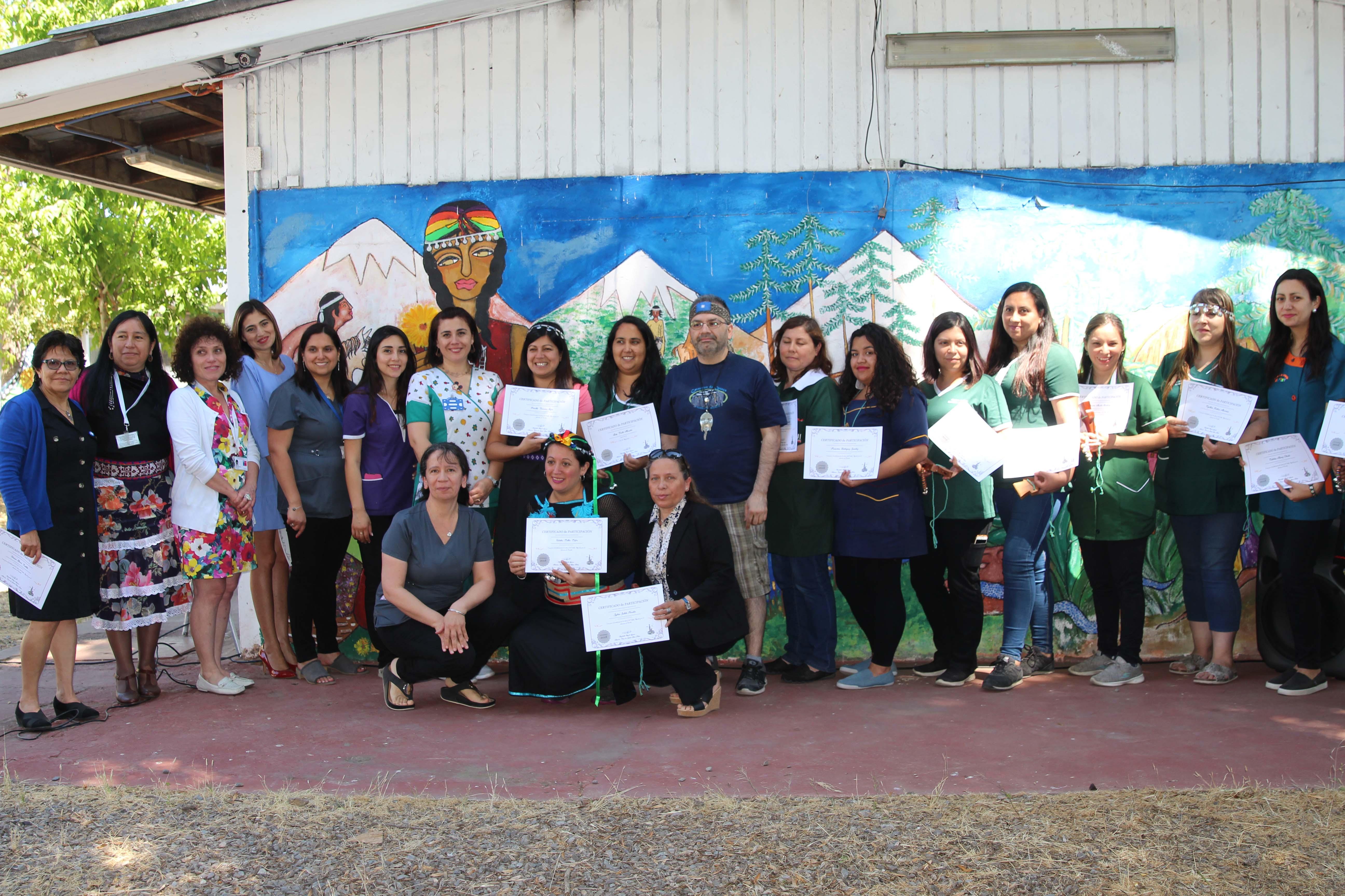 Quinta Normal promueve cultura Mapuche en Jardines infantiles