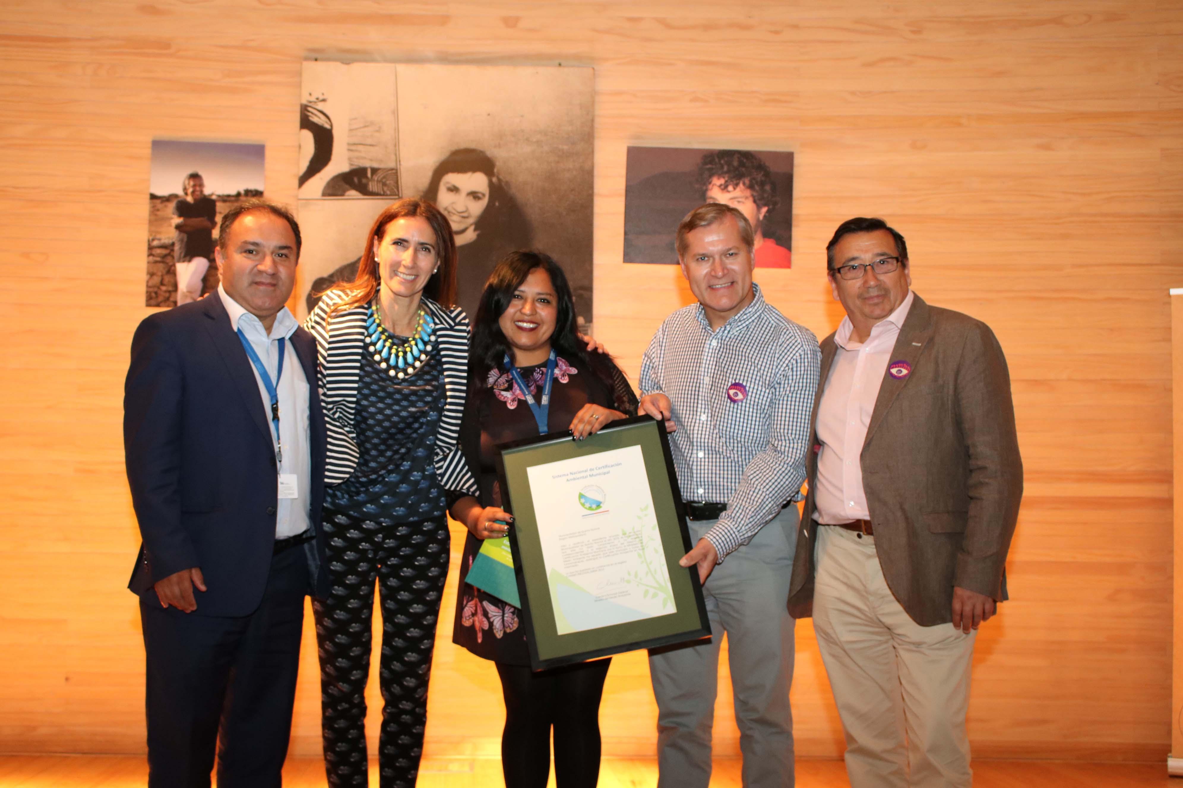 Municipio recibe certificación de excelencia en gestión ambiental