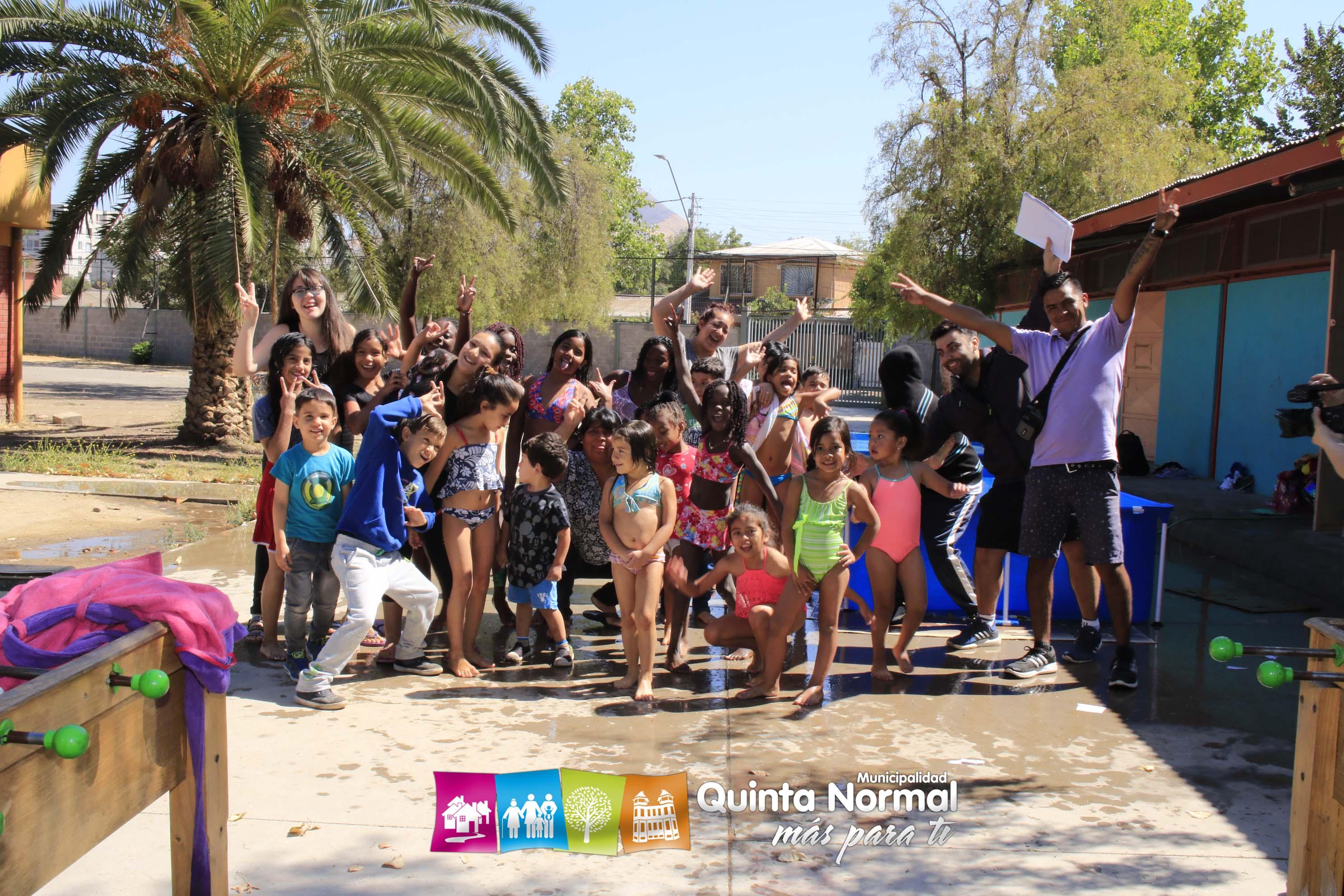 Niñ@s de la comuna disfrutan las Escuelas de Verano 2019