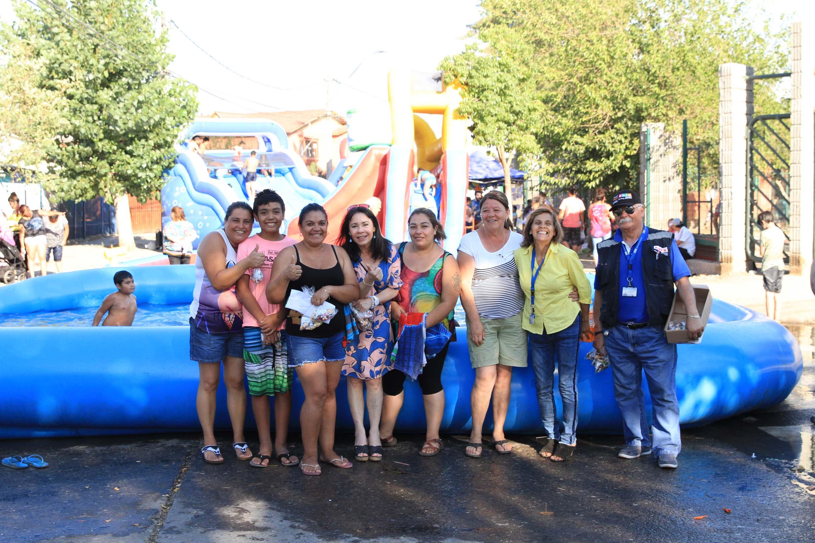 Cientos de vecinos disfrutaron Vacaciones Entretenidas