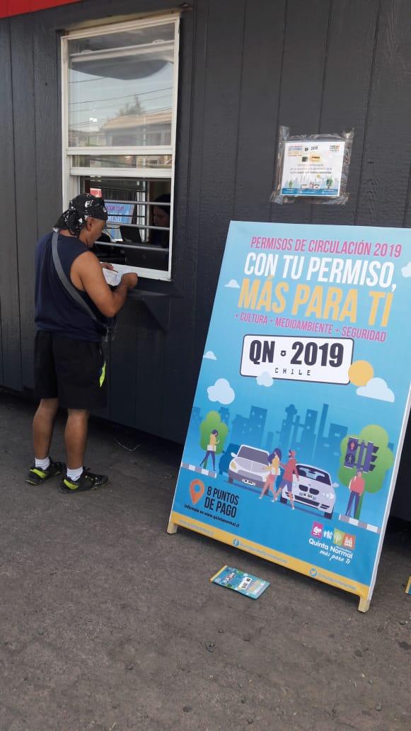 Municipio dispone módulos para el pago de permisos de circulación
