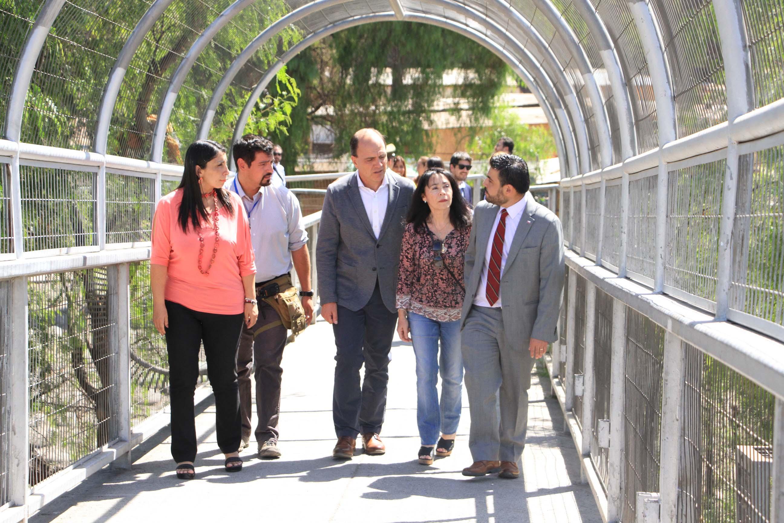 Alcaldesa participa en lanzamiento de la 2a etapa del proyecto Mapocho Río