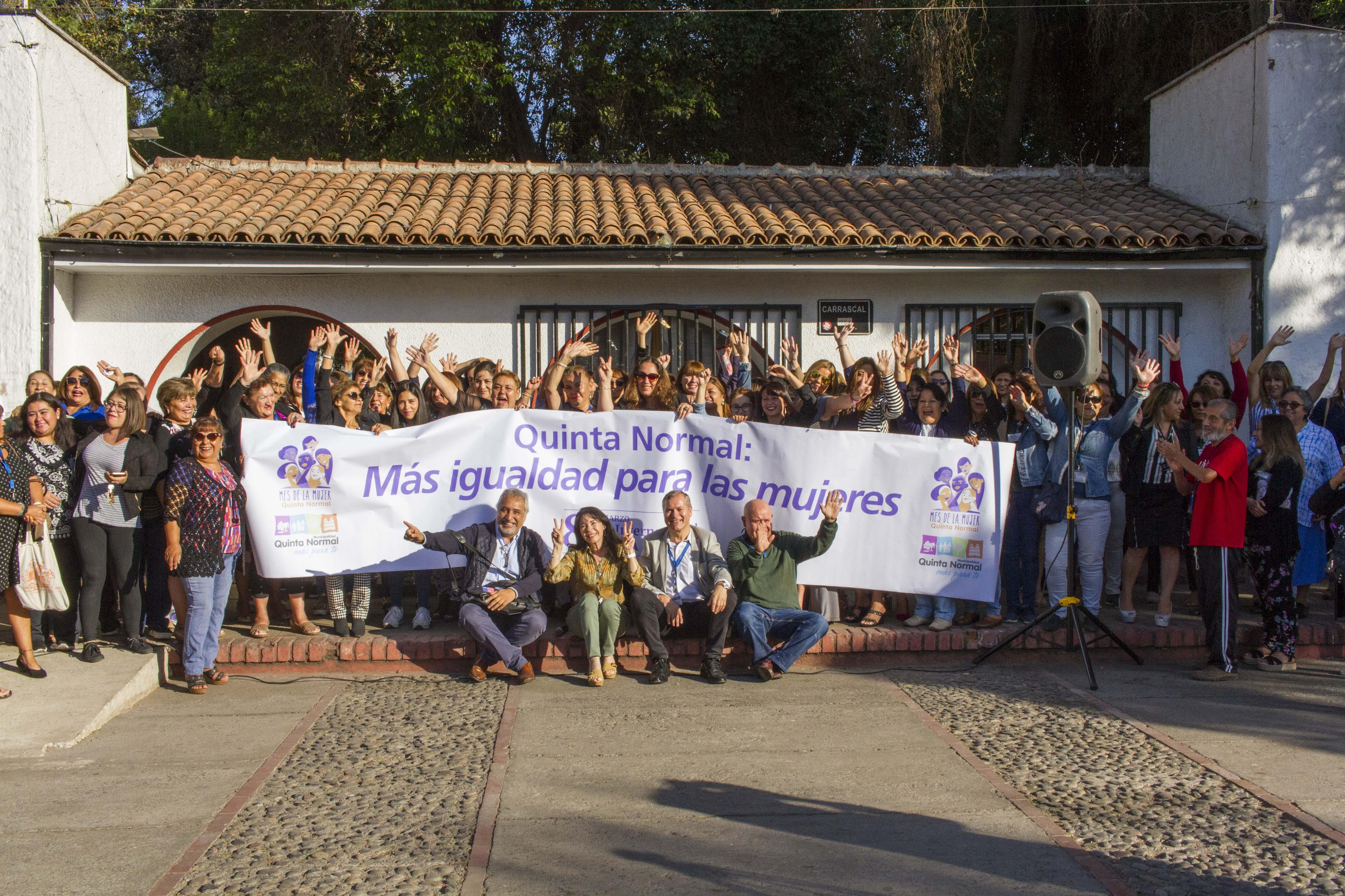 Quinta Normal conmemora el Día Internacional de la Mujer