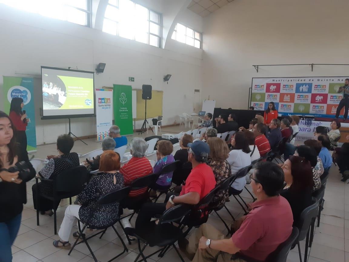 Vecinos y concejo conocen proyecto #MapochoRío