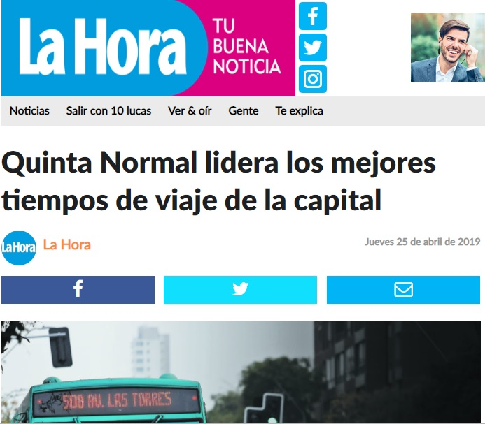 Estudio destaca conectividad de Quinta Normal