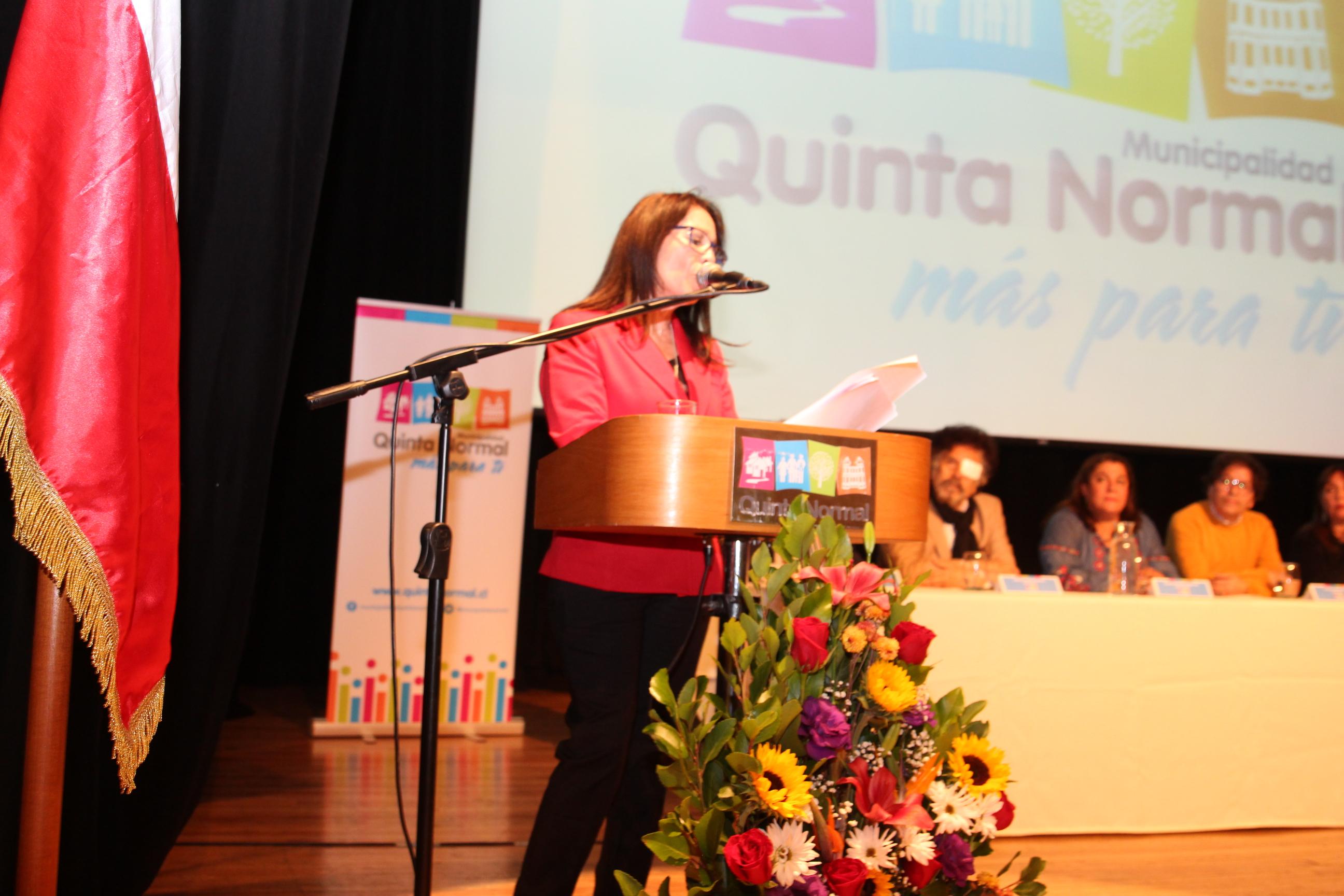 Alcaldesa Carmen Gloria Fernández, rindió Cuenta Pública de la gestión