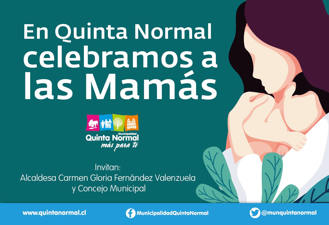 Ver actividades dedicadas a las Mamás de Quinta Normal