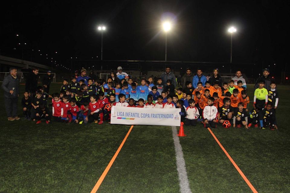 Niños de la comuna disputan la Copa Fraternidad