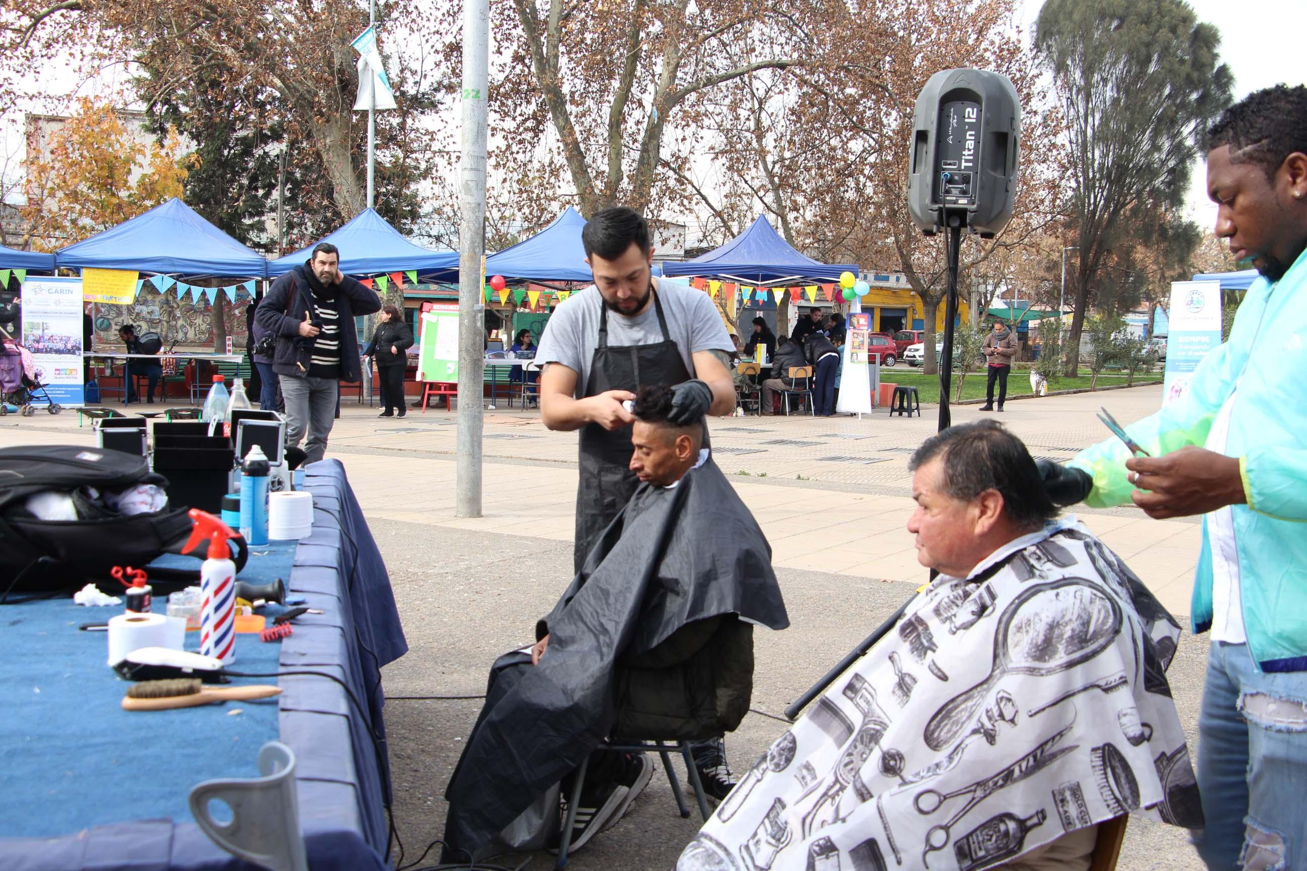 Feria de servicios para personas en situación de calle