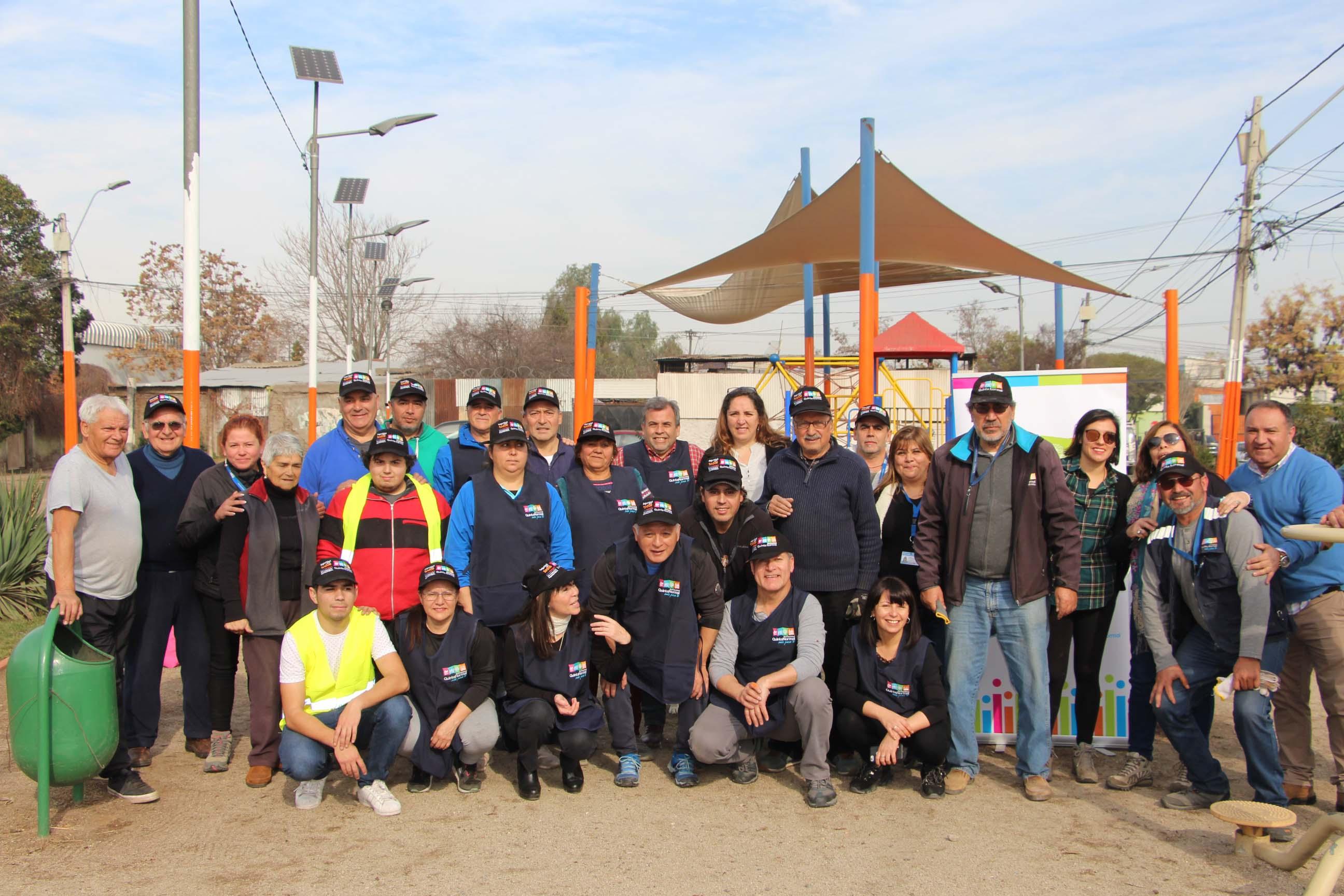 Comunidad y municipio mejoran plaza Jujuy