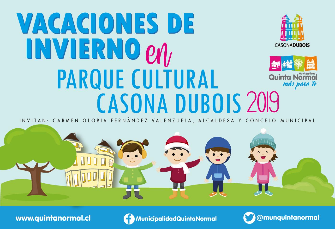 Vacaciones de Invierno en el Parque Cultural Casona Dubois