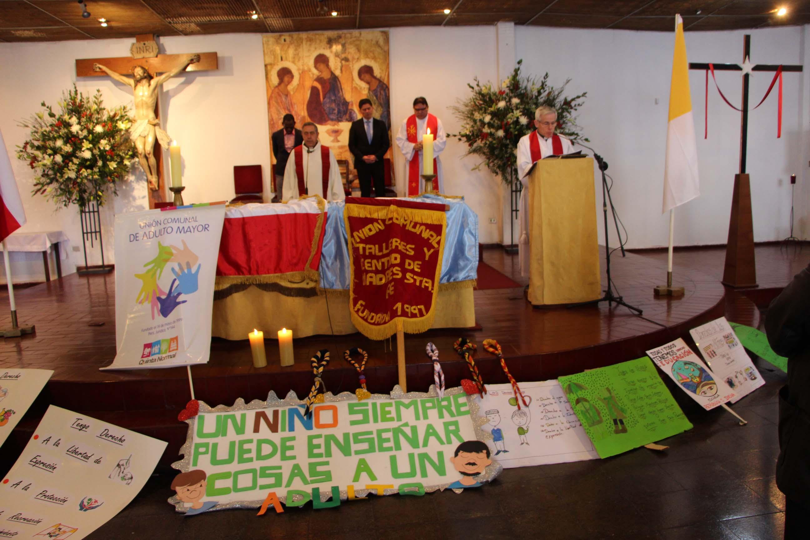 Quinta Normal se reunió para dar gracias en Te Deum ecuménico