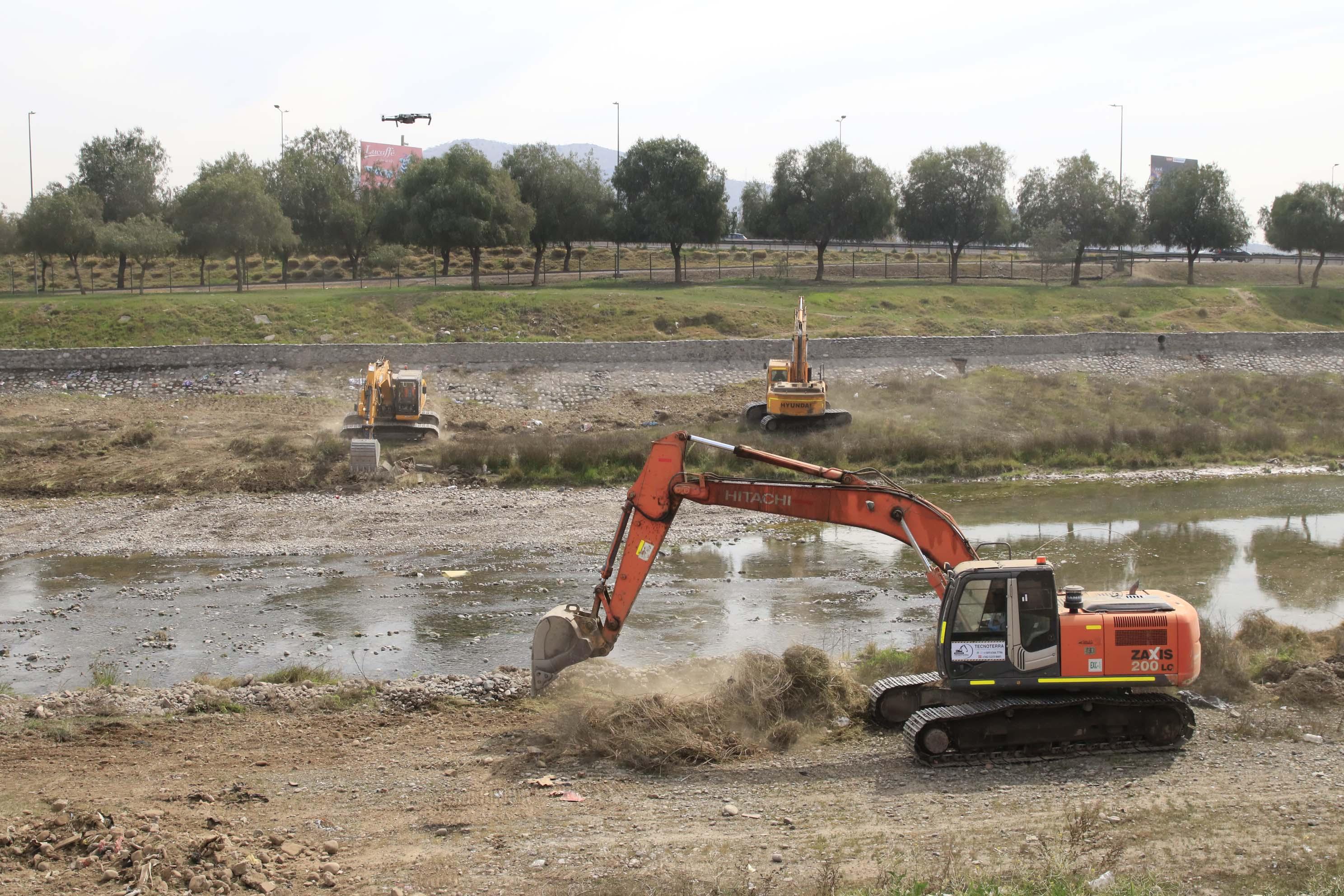 Con su ayuda, mantendremos la limpieza del Río Mapocho
