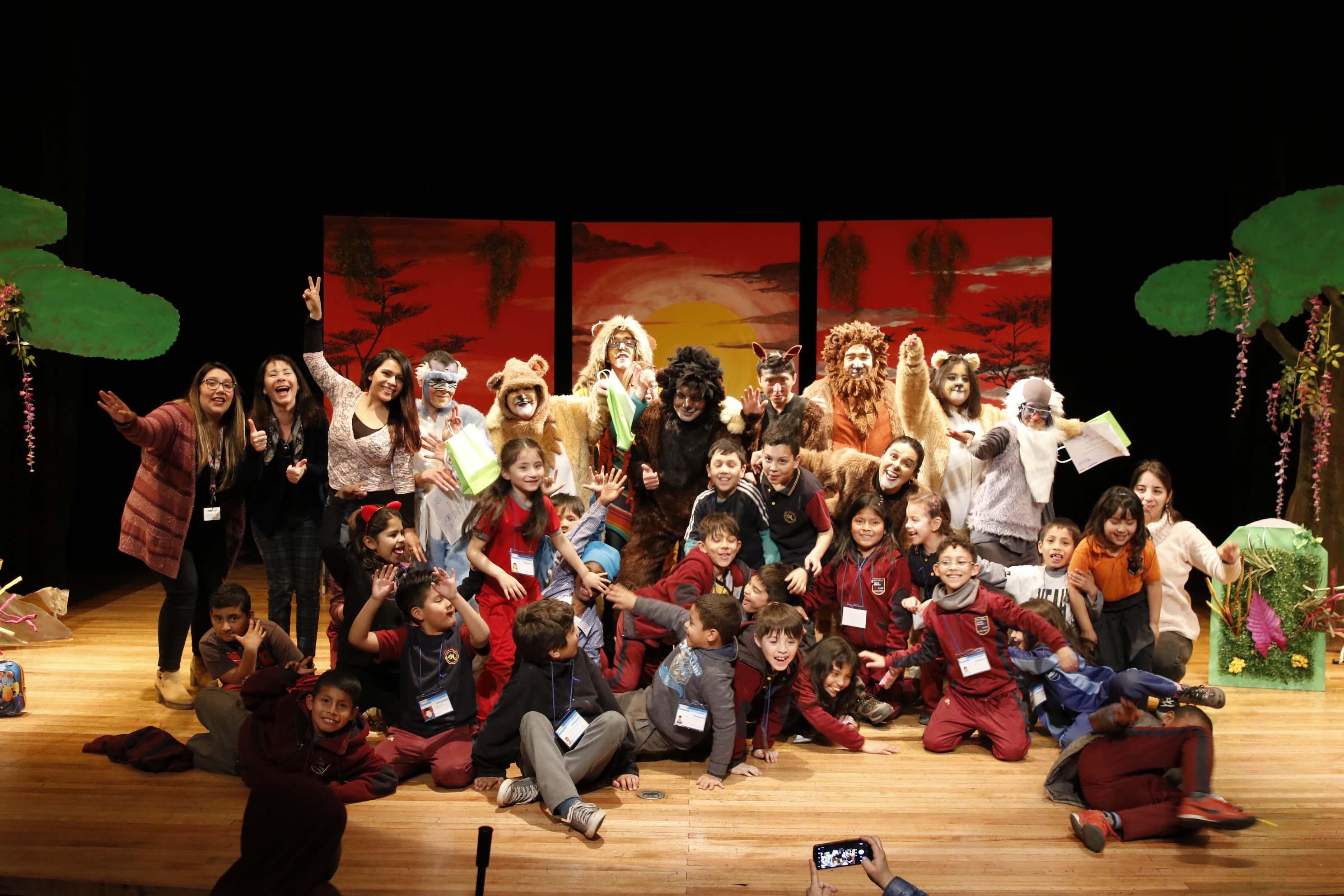 Teatro inclusivo El Rey León