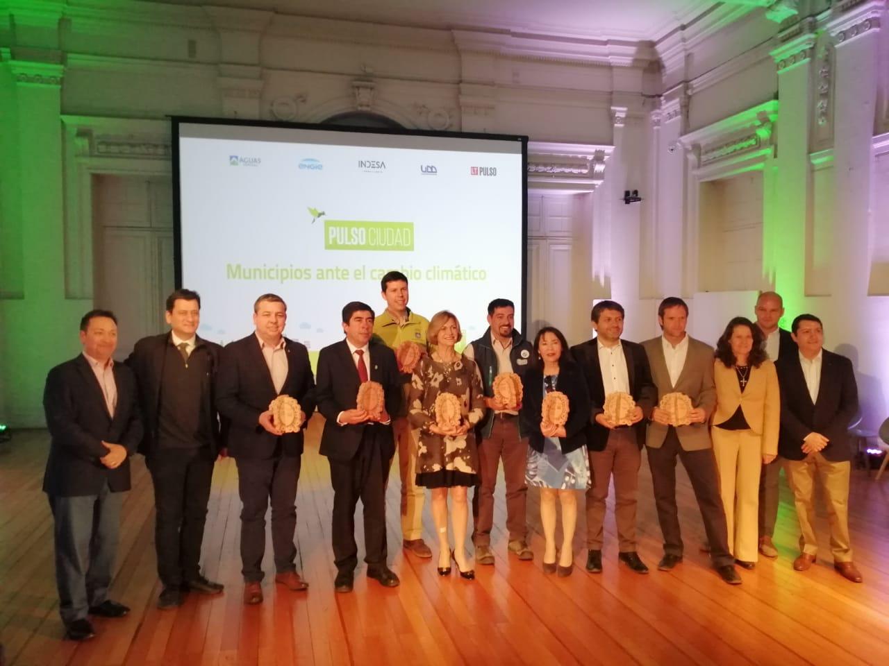 Municipio recibe premio Pulso Ciudad por proyecto Las Pérgolas de Carrascal