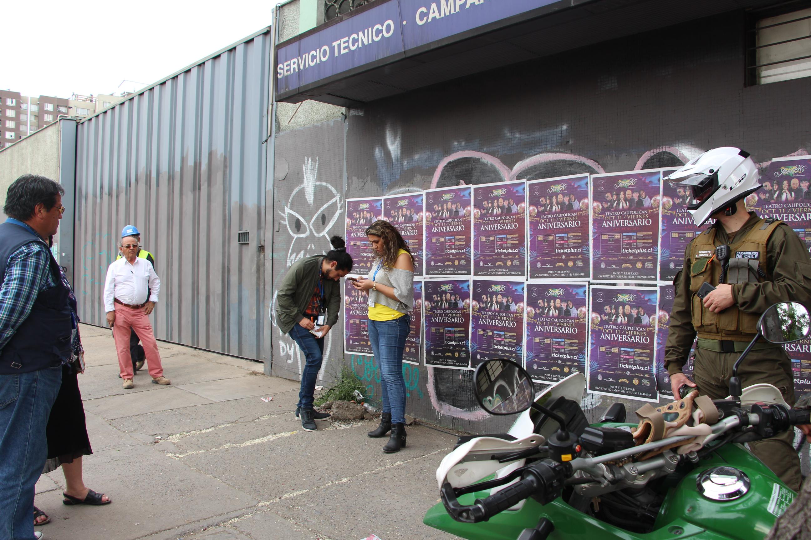 Municipio fiscaliza y sanciona proyecto San Pablo