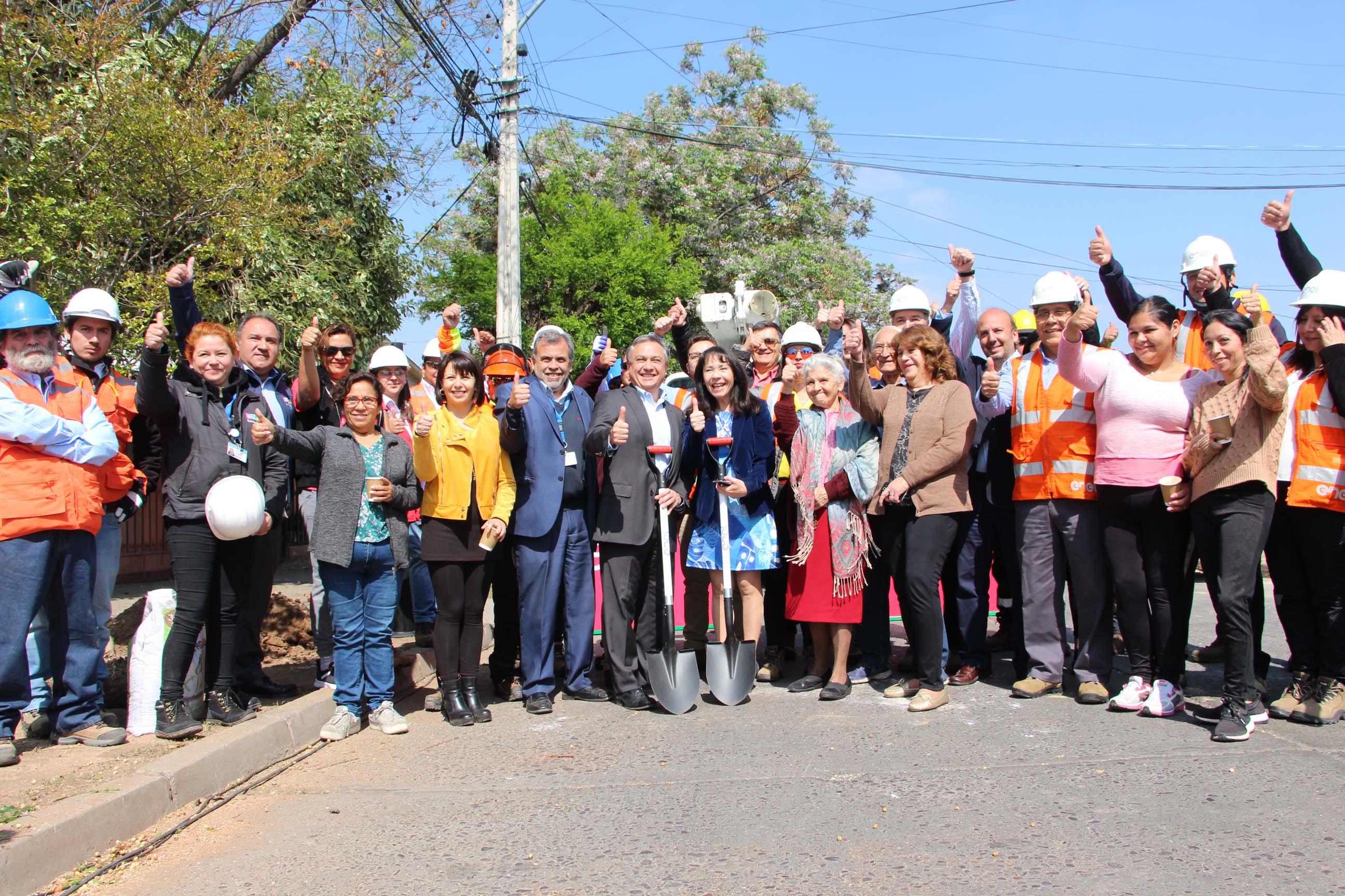 En Quinta Normal comienza proyecto de arborización de Enel