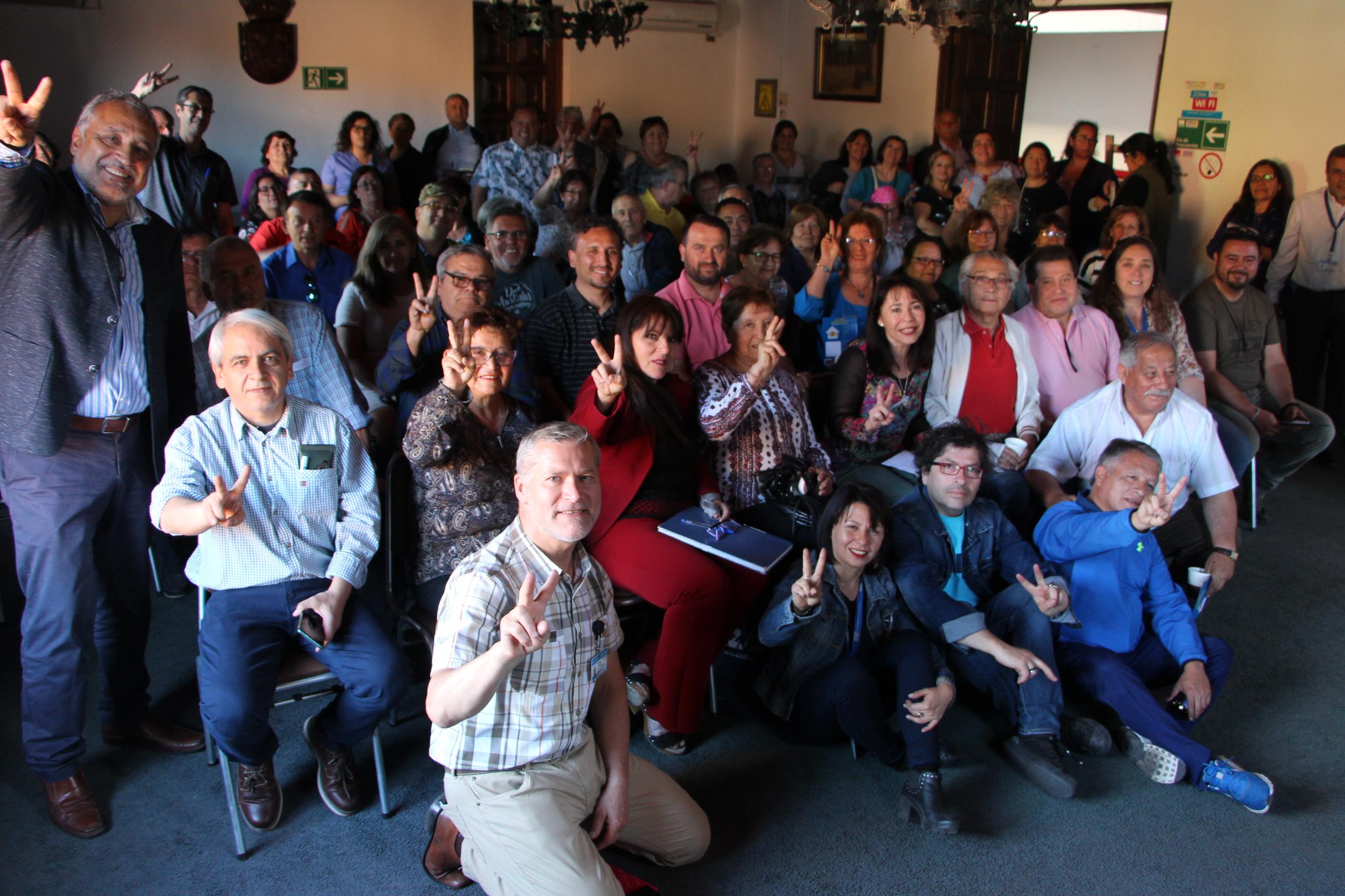 Alcaldesa realizó reunión ampliada con dirigentes sociales