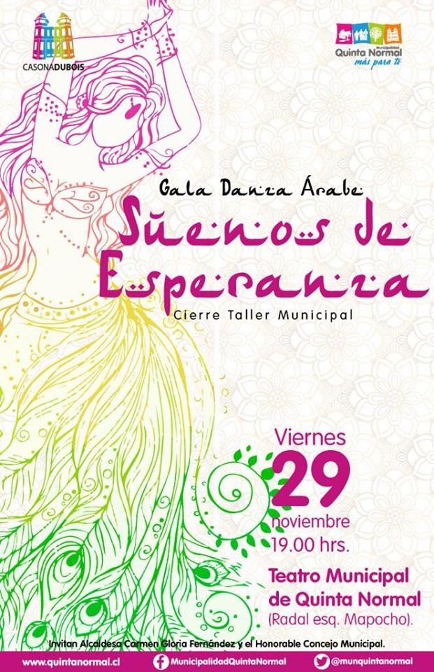 Sueños de Esperanza, viernes 29 de noviembre, 19:00 hrs.
