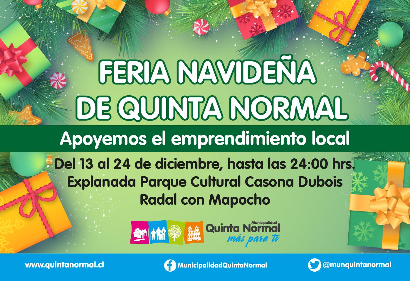 Feria Navideña Quinta Normal
