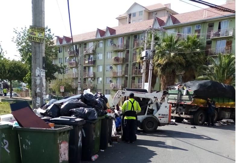Comienza normalización de la recolección de basura