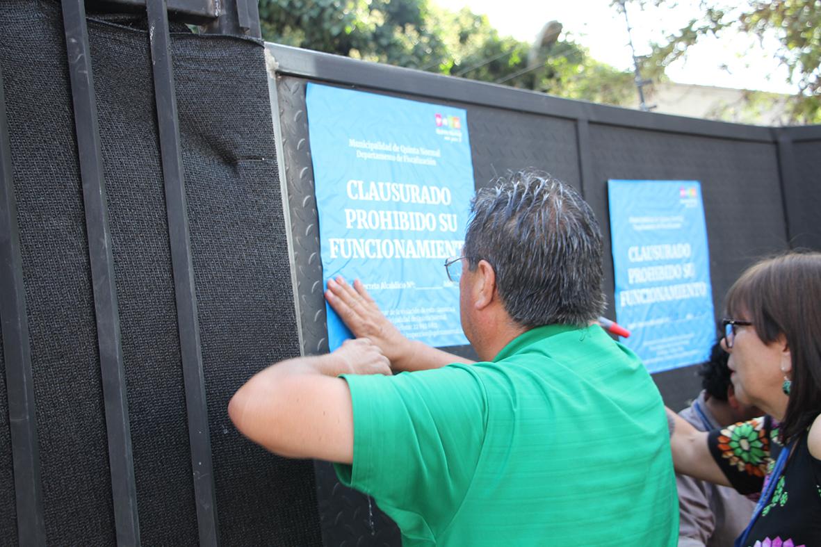 Gracias al trabajo colaborativo de vecinos, el municipio y la PDI se logró allanar y clausurar After Clandestino