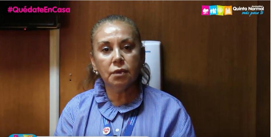 Prevención Covid-19. Directora de Salud