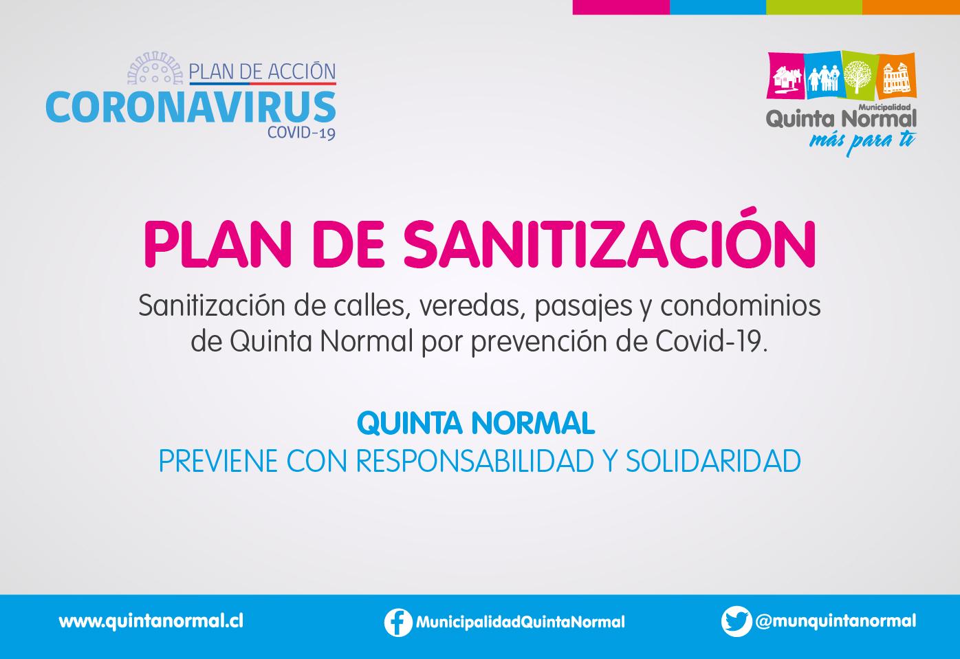 Sanitización comunal
