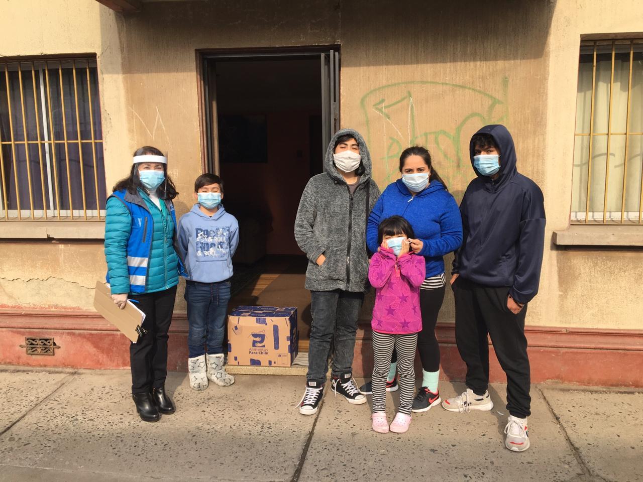 Más de 19 mil familias han recibido mercadería de Alimentos Para Chile